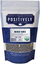 Positively Tea Company,Organic Mango Tango, Black Tea, Loose Leaf, USDA Organic, 4 Ounce Bag