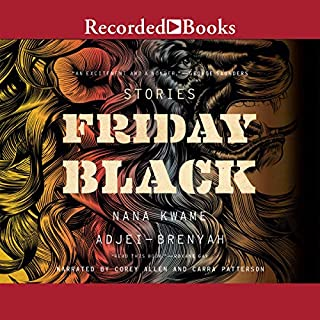 Friday Black audiobook cover art