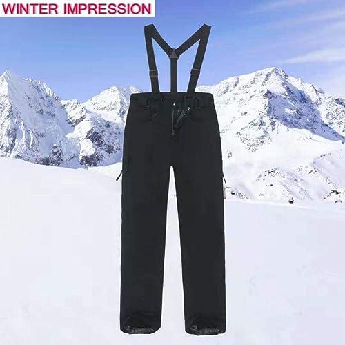 KUNHAN Vêtements de ski pour hommes Ensembles De Ski Nouvelle Marque Double Board Veste De Snowboard + Pantalon Adulte Neige Vêtements Imperméable à l'eau Chaud Resistdegree Homme Ski Suit