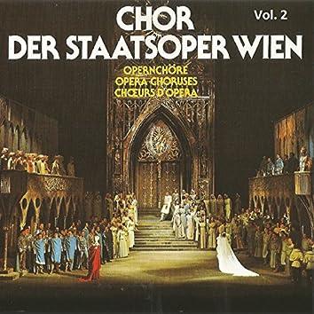 Chor Der Staatsoper Wien, Vol. II