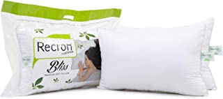 """Recron Certified Fibre Bliss Pillow - 17""""x27, Twin Pack, White"""