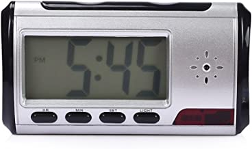 HD 1080P Hidden Camera Alarm Clock Motion Detection Spy Nanny Camera Loop Video Recorder Spy Cam