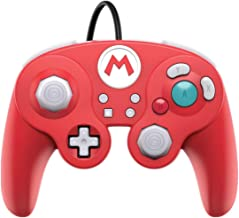 Nintendo Switch Super Mario Bros Mario GameCube Style Wired Fight Pad Pro Controller by..