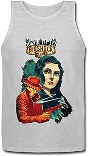 PingAnShu Men 100% Cotton Bioshock Tanks Tees