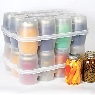 Canning Jar Storage Boxes - Quart Size Quart Jar Box