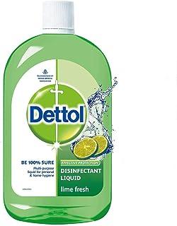 Dettol Liquid Disinfectant Cleaner for Home, Lime Fresh, 500 ml