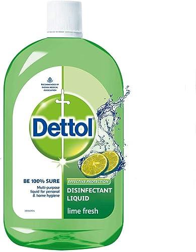 Dettol Liquid Disinfectant Cleaner For Home Lime Fresh 1L