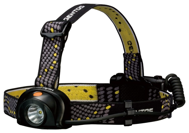 交換可能交換可能補充GENTOS(ジェントス) LED ヘッドライト 【明るさ200ルーメン/実用点灯10時間/防滴】ヘッドウォーズ HW-888H ANSI規格準拠 停電時用 明かり 防災