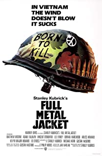 Posters USA Full Metal Jacket Movie Poster GLOSSY FINISH - MOV054 (24