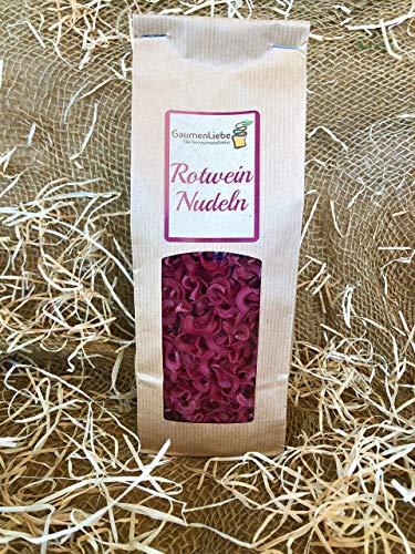 Nudelvielfalt - Nudelvariationen -Rotweinnudeln/Nudeln 200g / Wunschfresser