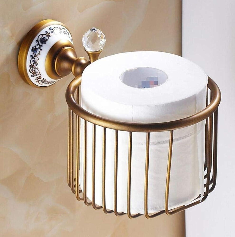 All Retro Fabrics Door-Roll Bronze Door Roller-Bathroom Toilet Paper Wall Accessories Toilet Paper Dispenser The Storage Tanks of Multifunction Fabrics for Holders Home Bathroom Kitchen