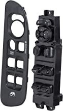 Master Power Window Switch & Bezel Fits 2002-2010 Dodge Ram 1500 2500 3500 Window Switch & Bezel (Black) 68171680AA, 56049805AB, 641-00653L