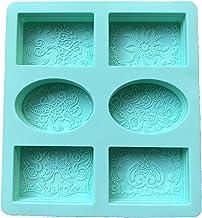Jingli 6 roosters DIY zeep siliconen vormen creatief patroon kunst handgemaakte vormen voor cake chocolade fondant productie