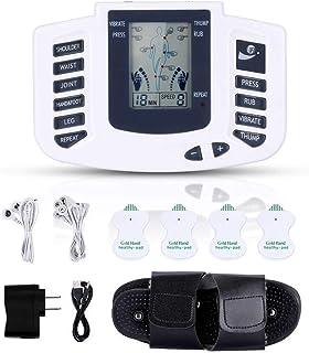 Mini Masajeador Y Estimulador, Gimnasia Pasiva, Electroestimulacion, Electrodos Para Tens, Electroestimulador Digital Muscular, Electroestimulador Tens, Tens Fisioterapia, Tens Ems Electroestimulador