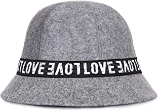 ZiWen Lu Shaped Collapsible Basin Cap Dome Warm Fisherman hat Anti-Hairy hat (Color : Grey, Size : 57cm)