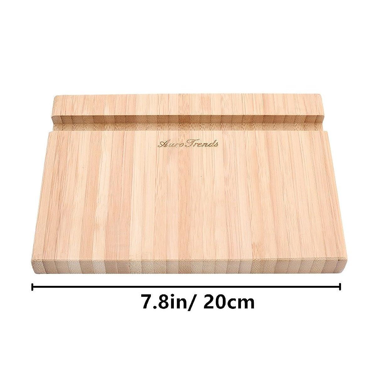 ヒロイック偽造送金AuroTrends 木製 タブレットスタンド iPadスタンド 竹製 卓上ホルダー 充電スタンド スマホ用 充電ホルダー シンプル