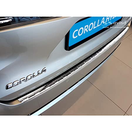 Avisa 2 35419 Edelstahl Heckstoßstangenschutz Toyota Corolla Xii Combi 2019 Ribs Auto