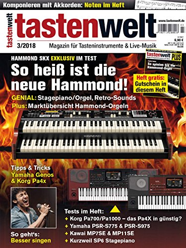 Hammond SKX Exklusiv im Test - Besser singen Workshop in der tastenwelt 03 2018