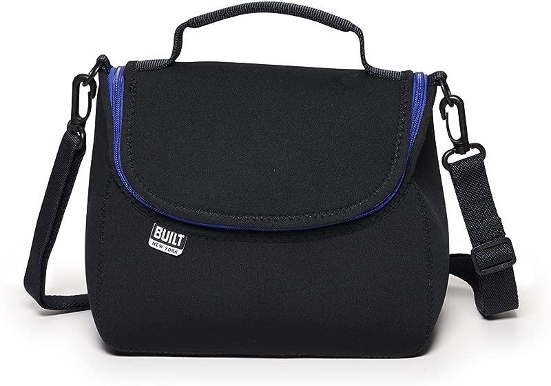 BUILT NY Bistro Neoprene Crossbody Lunch Bag Black