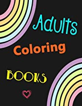 Adults Coloring Books: For Girls Women Teens Included Flower Butterfly Unicorn Animals Bird Fish Dress Lady Adults Relaxat...