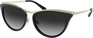 Michael Kors 54 mm Azur Cat Eye Metal Sunglasses MK1065