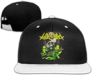 Municipal Waste Toxic Holocaust Rock Contrast Color Hip Hop Cap