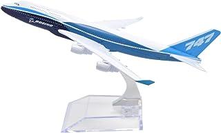 TANG DYNASTY 1/400 16cm ボーイング社塗装機 ボーイング B747 高品質合金飛行機プレーン模型 おもちゃ