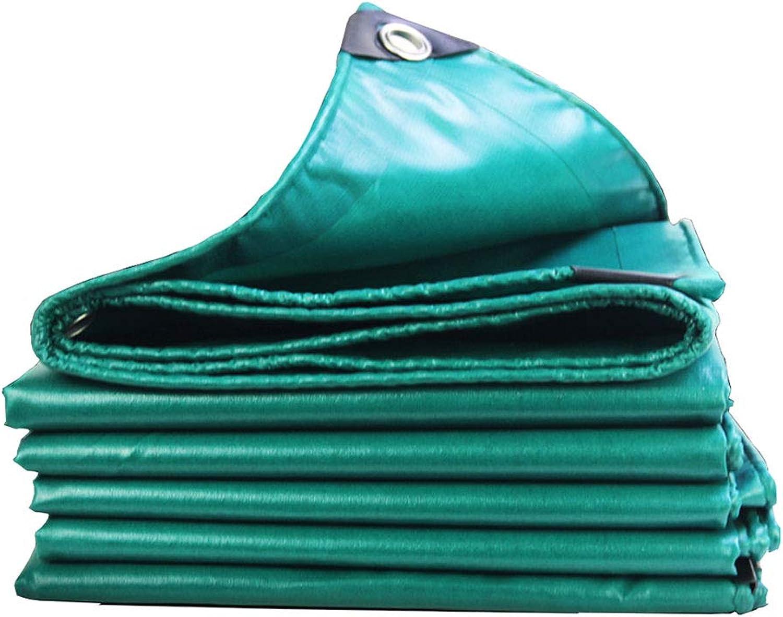 Tarps Tarps Tarps Abdeckplanen PVC Wasserdicht Plane Sonnenschutz Regendicht, Reinigungstuch Sonnensegel Schatten für Innen und Außenbereich, 530 g m² dunkelgrün Planen B07GGW5XZG  Die erste Reihe von umfassenden Spezifikationen für Kunden 9506c7