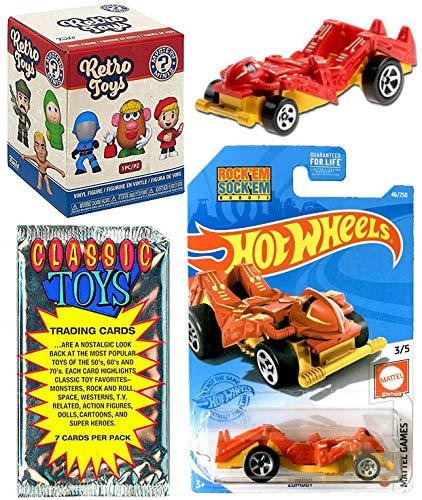 Sock it Zombot Retro Toys Game Car Bundled with + Rock Em Sock Em + Vintage...