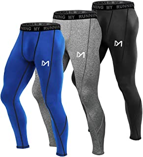 Men's Compression Pants, Cool Dry Long Base Layer Leggings, Sport Fitness Underwear Tights
