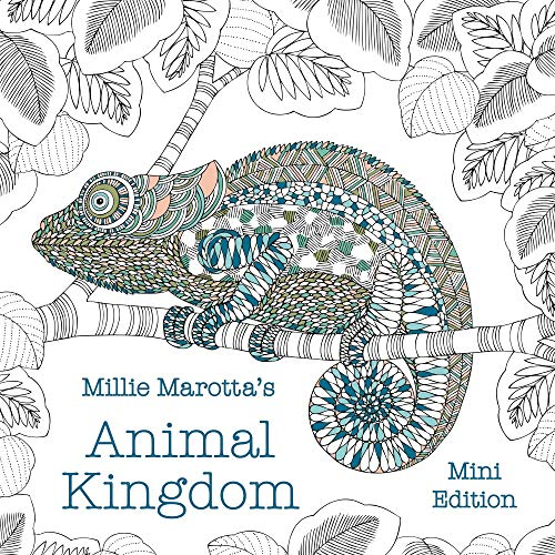 Millie Marotta's Animal Kingdom: Mini Edition (Millie Marotta Adult Coloring Book)