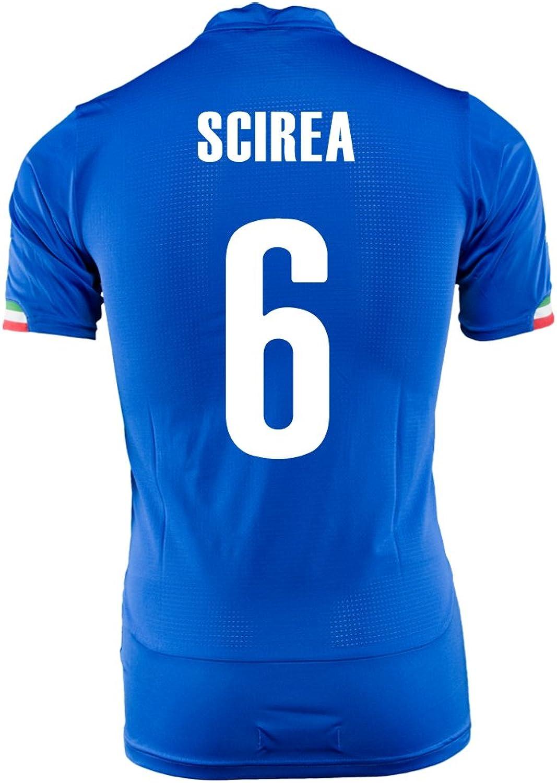SCIREA   6 ITALIEN HOME JERSEY WORLD CUP 2014 (S) B00JS8C0AI  Meistverkaufte weltweit
