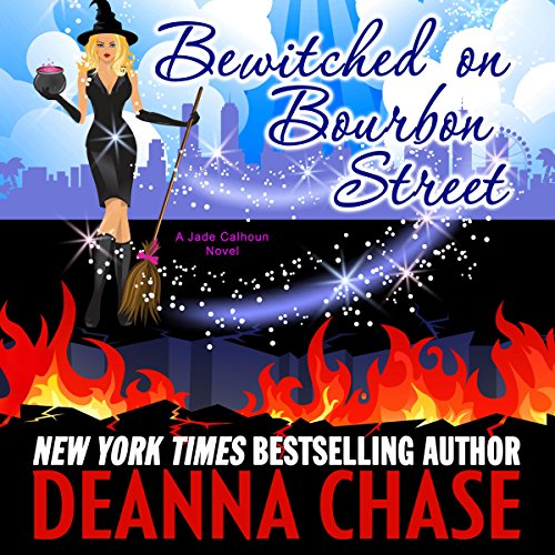 Bewitched on Bourbon Street audiobook cover art