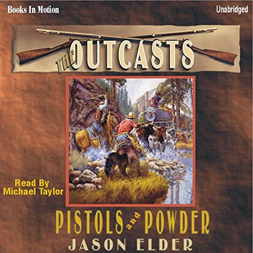 Pistols and Powder audiobook cover art