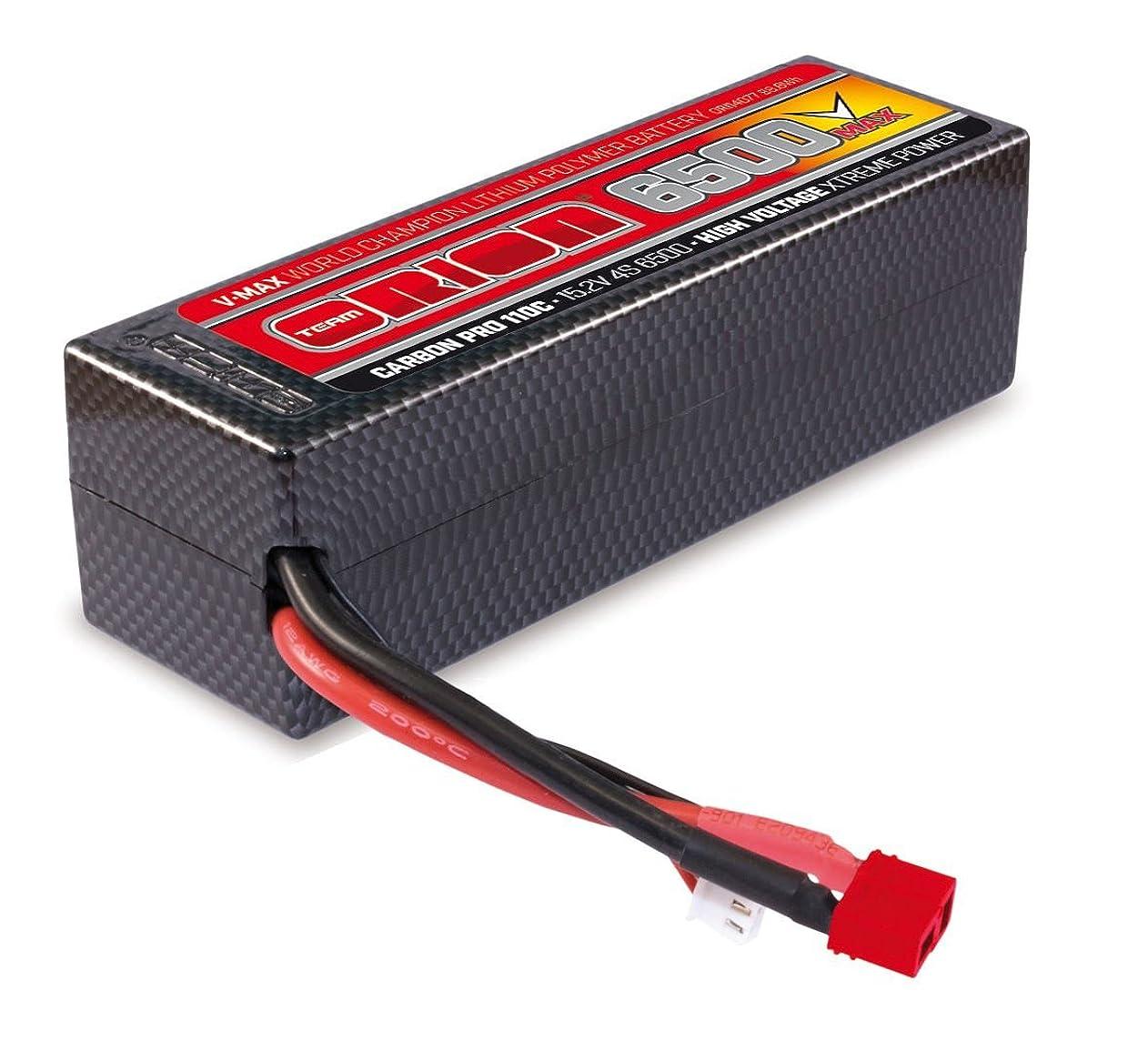 Team Orion Carbon V-Max 15.2V 6500 4S 110C Deans Battery abmcipysoxj74511