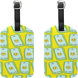 Set of 2 Luggage Tags Tumblr Sloth Business Baggage Suitcase Labels Travel Accessories