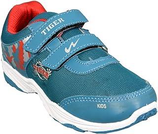 Campus NR-785 V Blue & Grey Boy's Sports Shoe