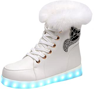 snow white light up shoes