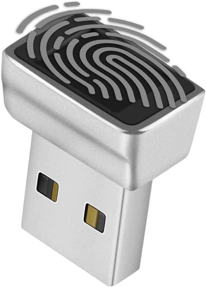 TNP Nano USB Fingerprint Reader for Security New products world's highest safety quality popular 10 Windows - Hello