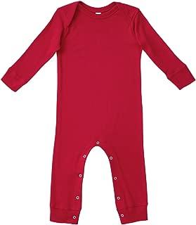 Infant 100% Cotton Lap Shoulder Long Sleeve Long Leg Coverall