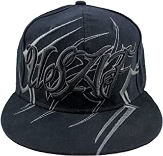US Air Force with Tribal Design Flat Bill Cap
