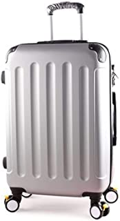 26 Inch Trolley Case/Bags Woman Travel Suitcase With Wheels Rolling Carry On Luggage,E,24