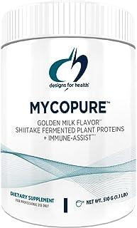 Designs for Health MycoPure Immune Support Mushroom Protein - Keto + Vegan Shiitake Mushroom Optimizer Boost - Immune Syst...