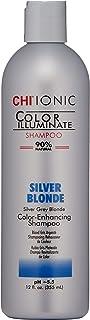 CHI Ionic Color Illuminate Shampoo, Silver Blonde, 12 FL Oz