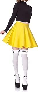 Dani's Choice Flouncy High Waist A-line Full Flared Circle Swing Dance Party Casual Skater Short Mini Skirt