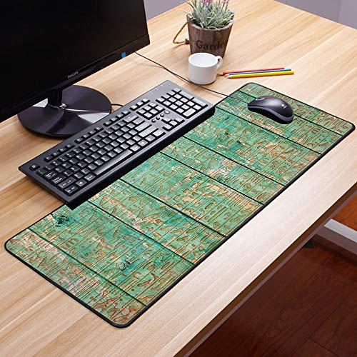 Comfortable Mouse Pad 60x35 cm,Egipto, antiguos iconos de jeroglíficos en tablero de madera i,Impermeable con Base de Goma Antideslizante,Special-Textured Superficie para Gamers Ordenador, PC y Laptop