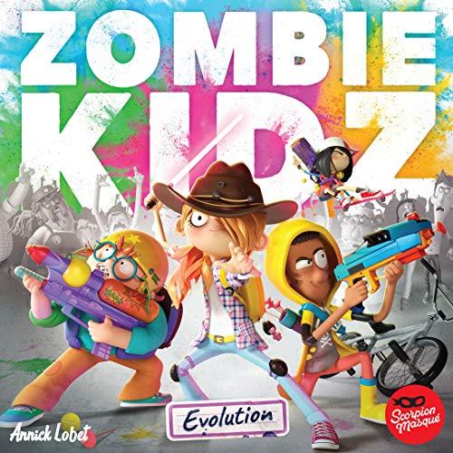Scorpion Masque Zombie Kidz Jeu...