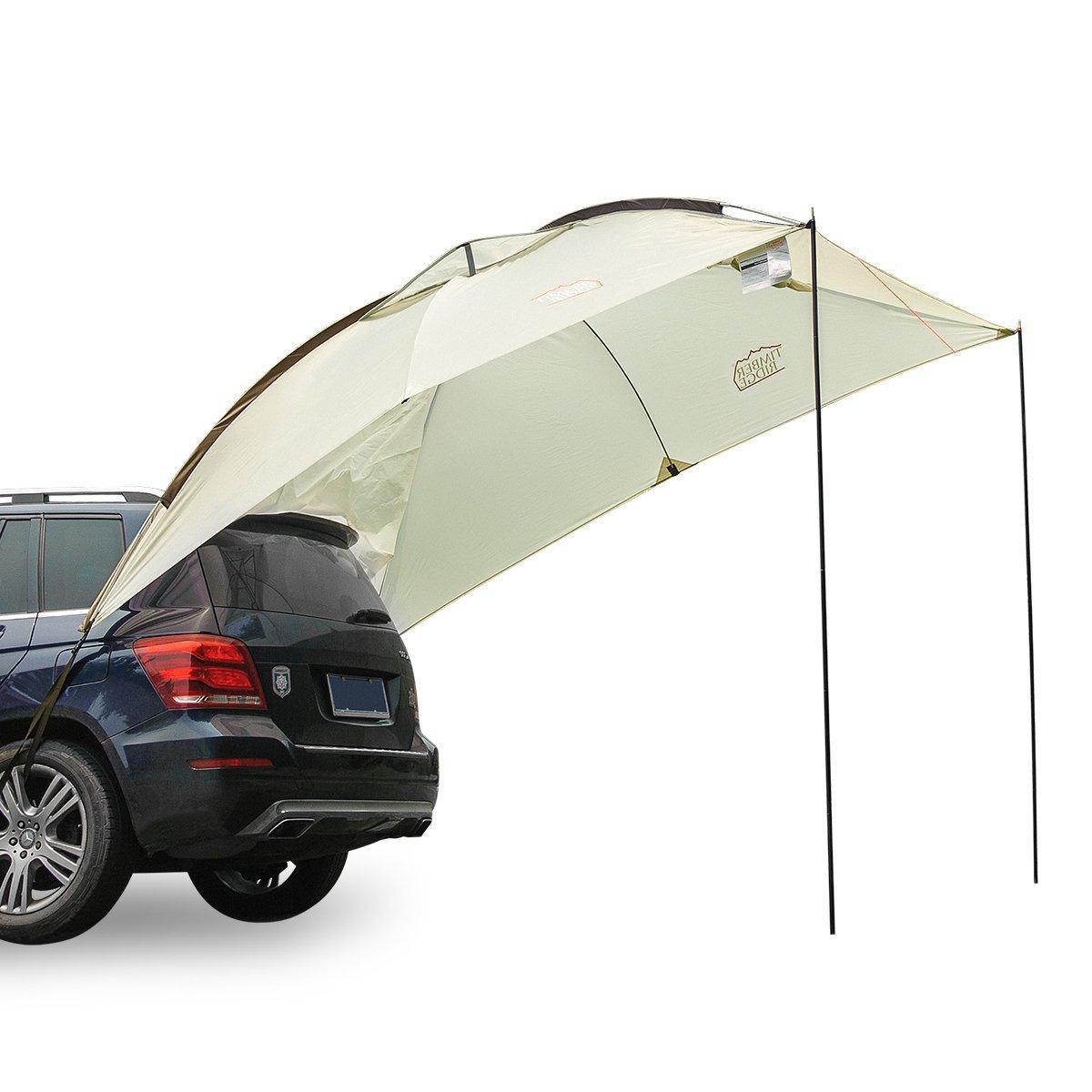 Timber Ridge Toldo de coche familiar para remolque, tienda de campaña al aire libre para playa, camping, SUV, 3-4 personas parasol: Amazon.es: Deportes y aire libre