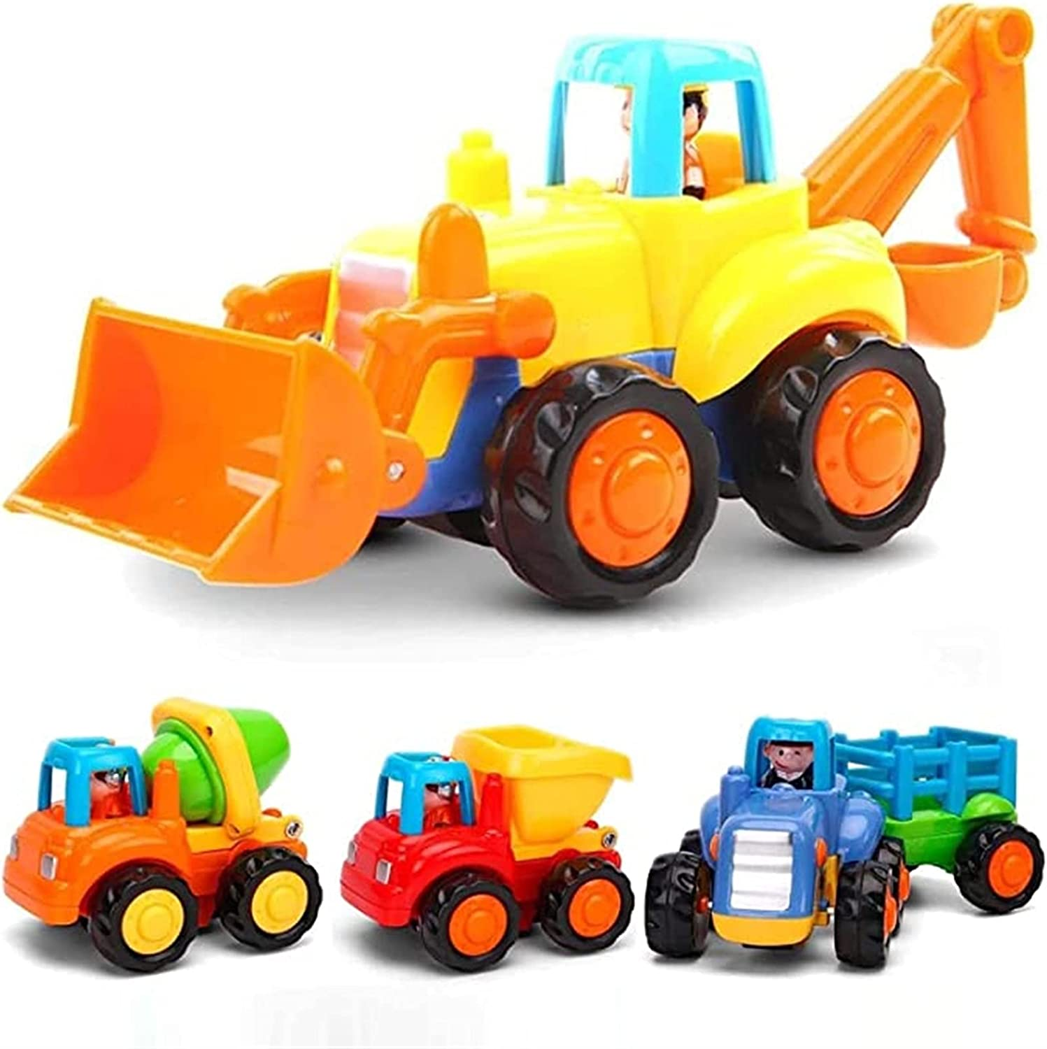 trend Atlanta Mall rank LJJ Construction Vehicles Toys Take-Apart C and Push Go Cartoon