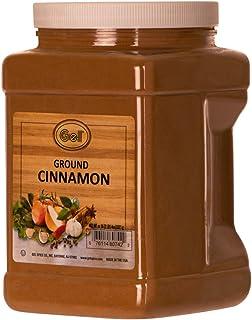 Gel Spice Ground Cinnamon Bulk Size 36 Ounce